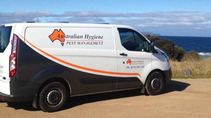 Australian Hygiene Services Pest Management Van